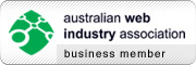 Business Member of the Australian Web Industry Association